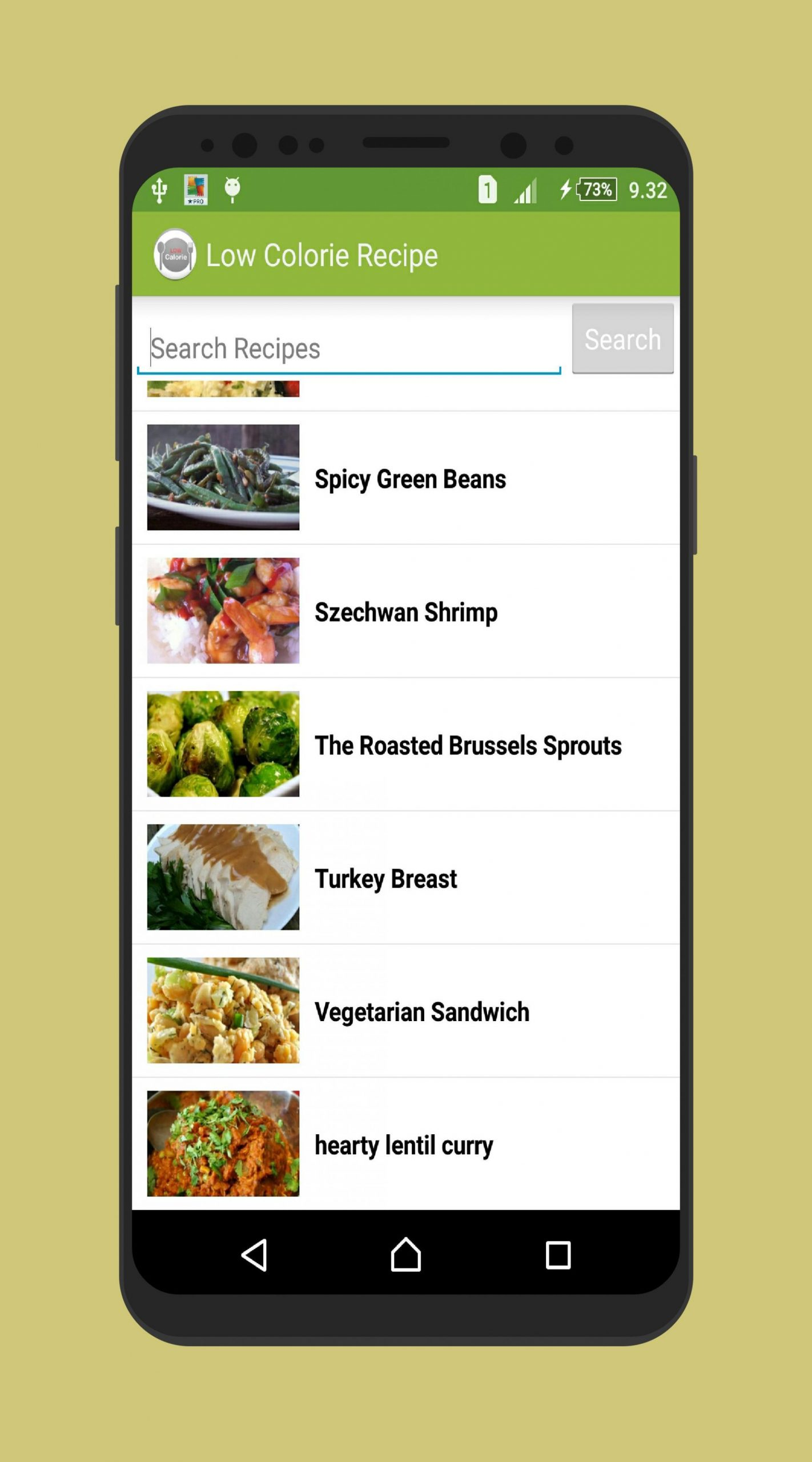 Low Calorie Easy Recipes Offline App for Android - APK Download - Easy Recipes App