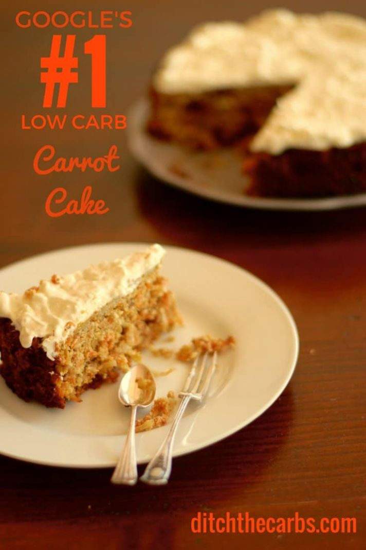 Low Carb Carrot Cake - Cake Recipes Made With Xylitol