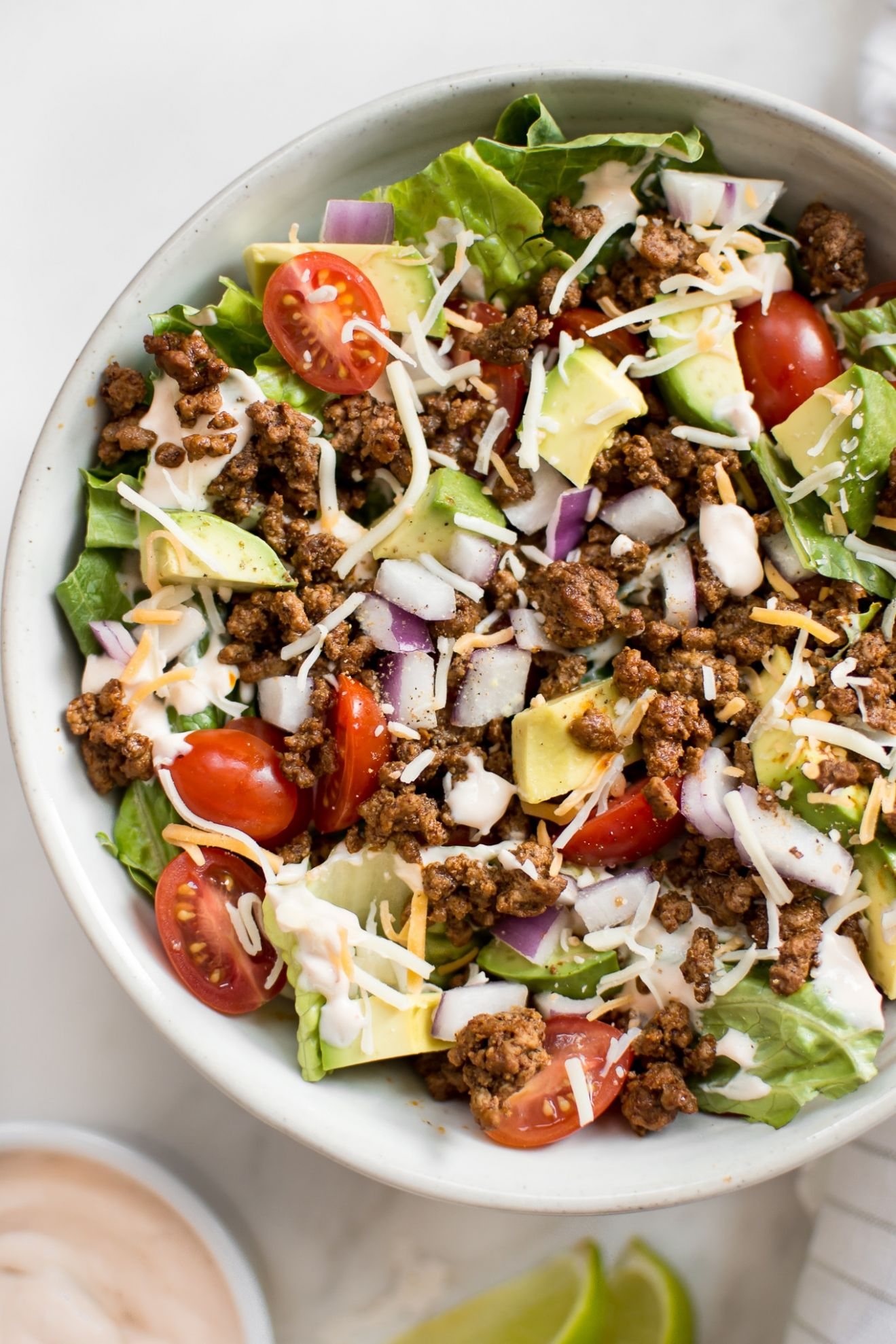 Low-Carb Taco Salad Recipe - Salad Recipes Low Carb