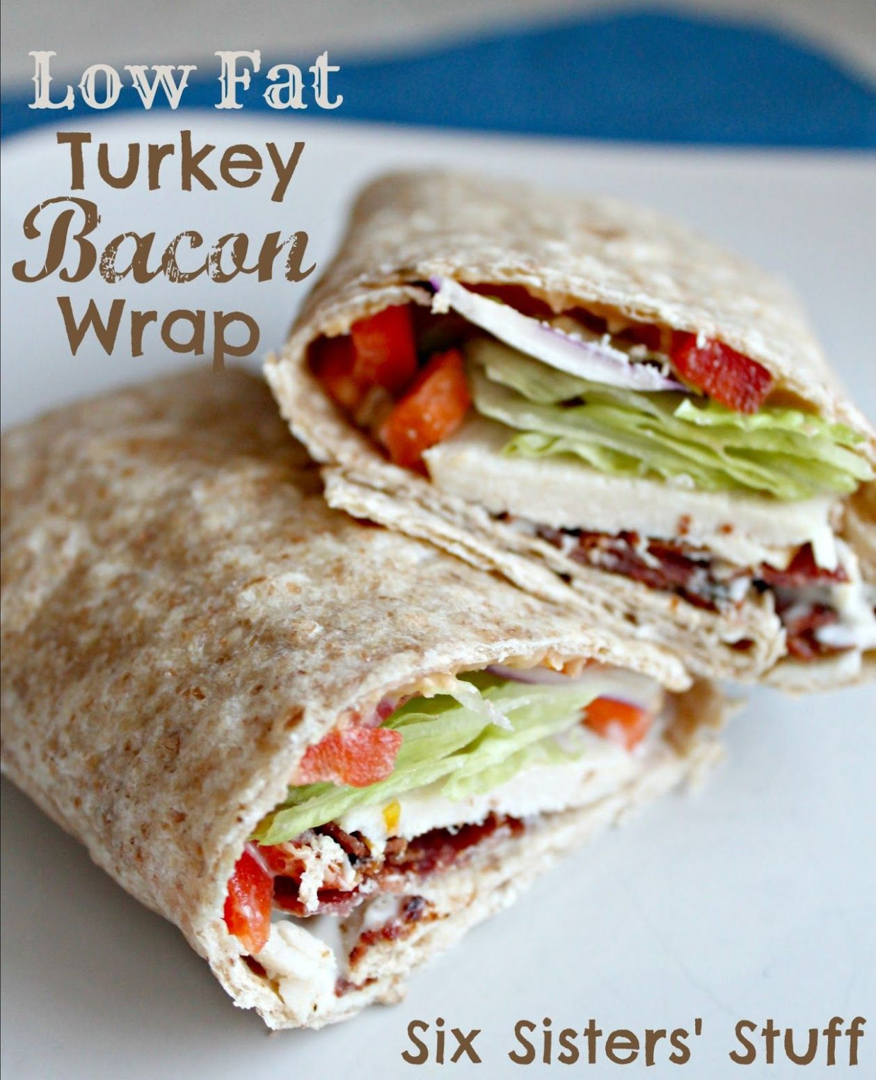 Low Fat Turkey Bacon Wrap