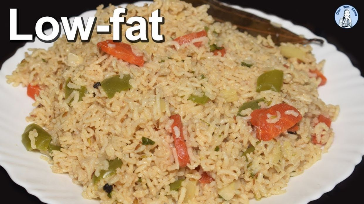 Low fat Vegetable Pulao Recipe | Brown Rice Recipe for weight loss | Life  with Amna