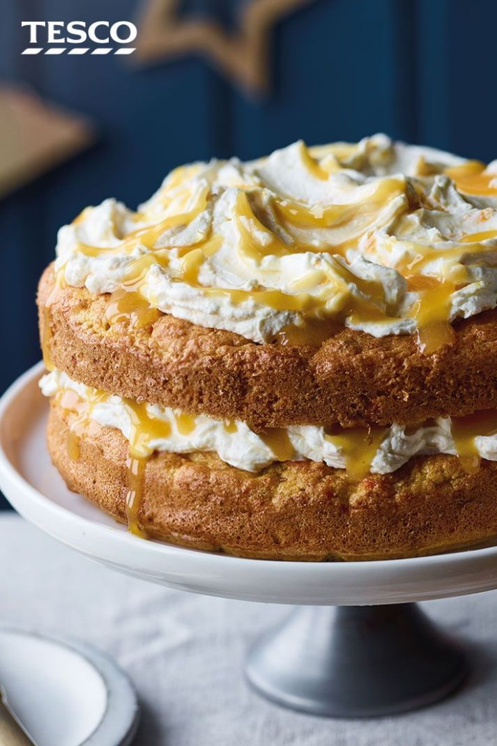 Low sugar St Clement's cake - Cake Recipes Low Sugar