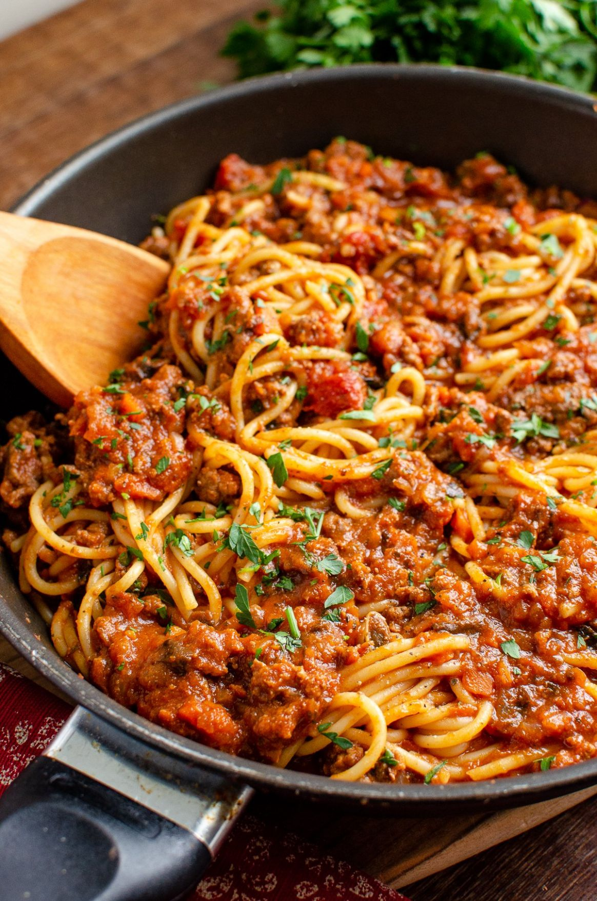 Low Syn Rich Spaghetti Bolognese | Slimming World - Recipes Pasta Bolognese