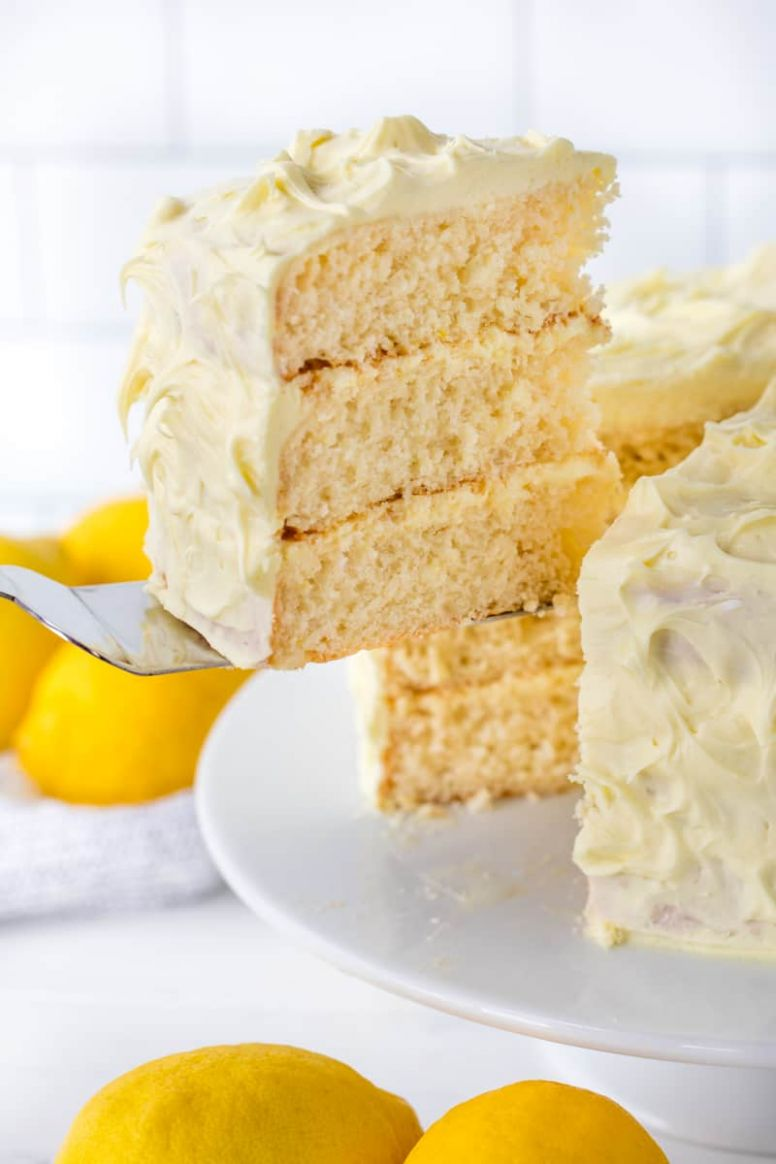 Lucious Lemon Cake - Recipes Lemon Cake