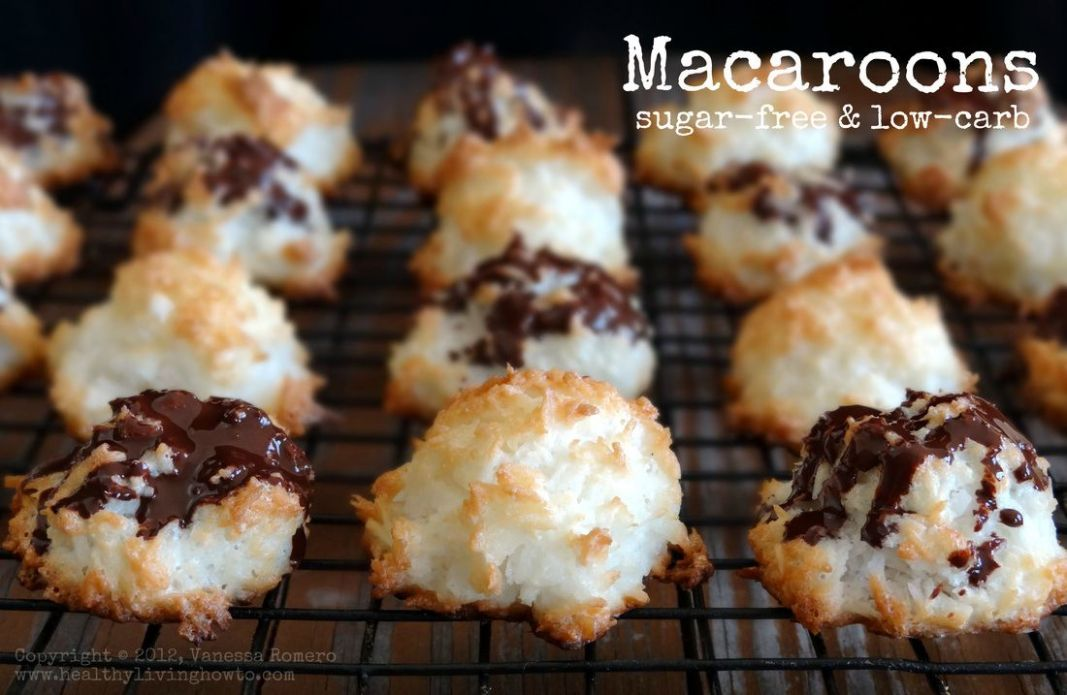 Macaroons | Low carb sweets, Low carb desserts, Sugar free recipes