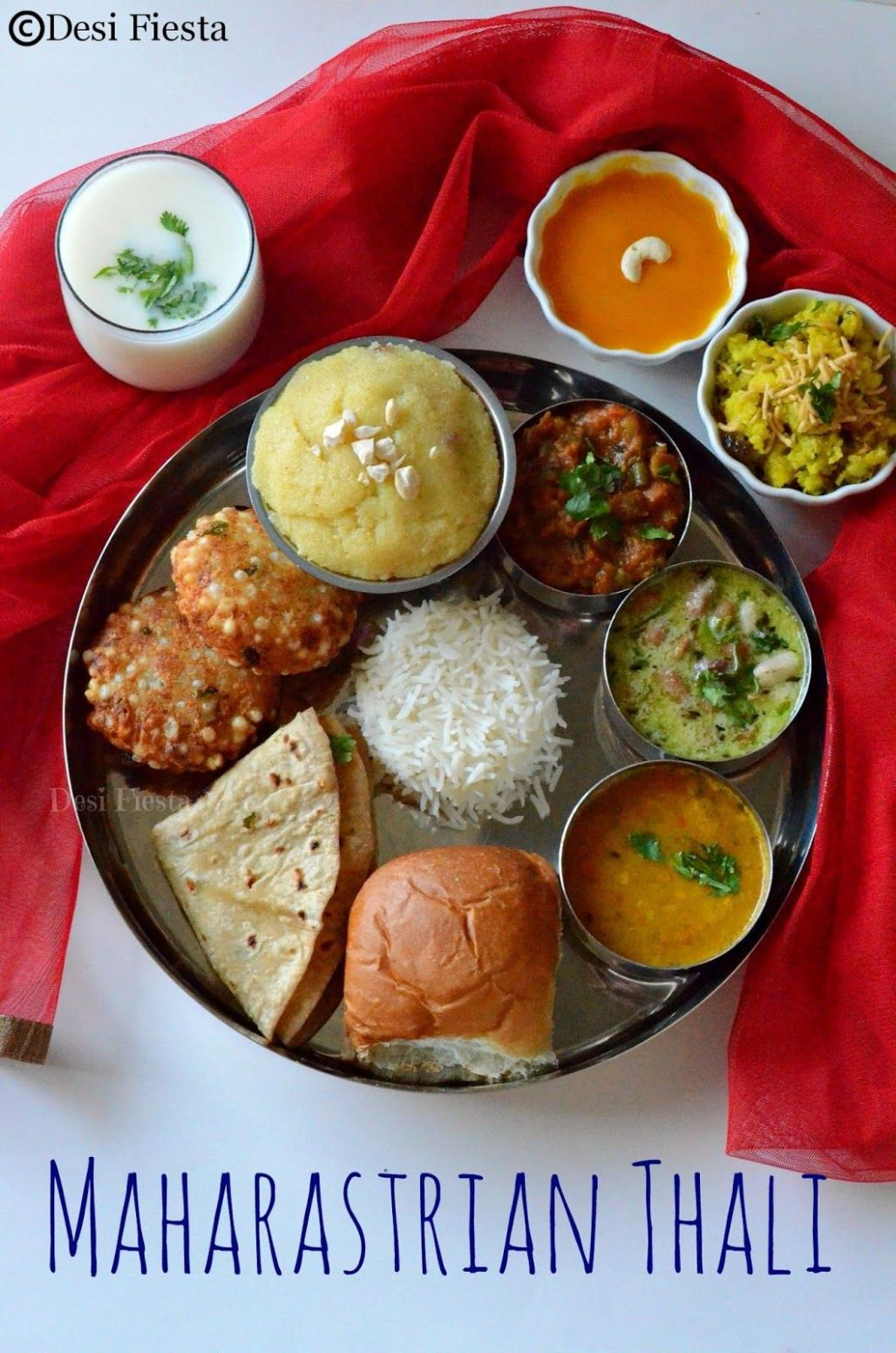 Maharastrian Thali | Indian food recipes, Desi food, Food recipes