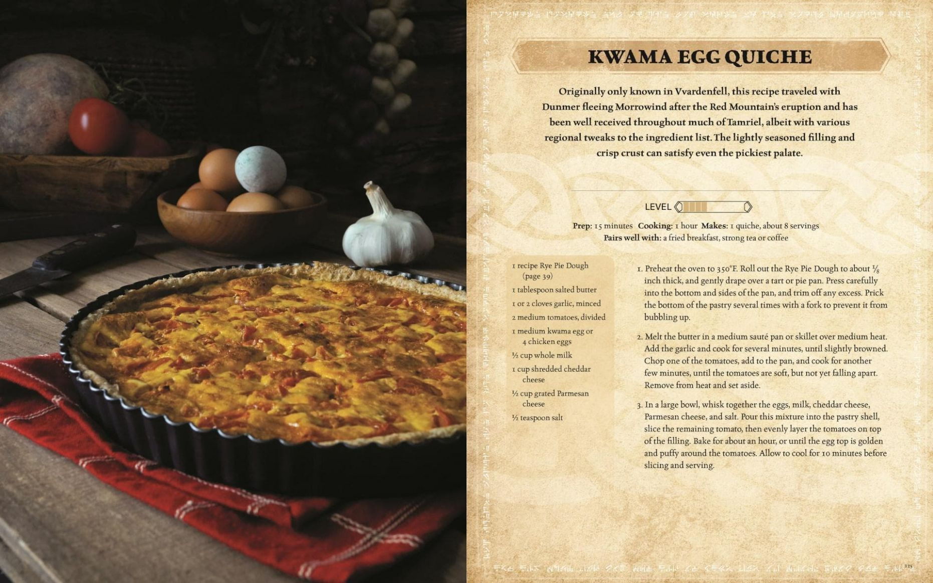 Make a Real Kwama Egg Quiche with The Elder Scrolls: The Official ..