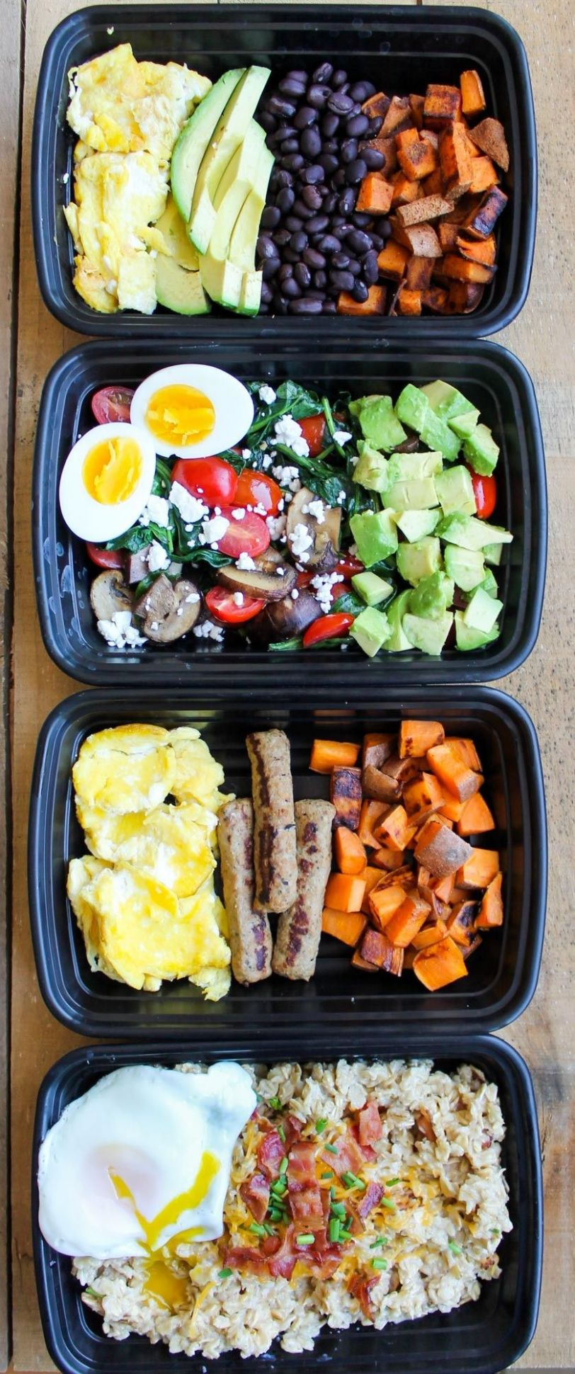 Make-Ahead Breakfast Meal Prep Bowls: 10 Ways