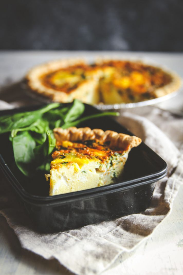 Make Ahead Freezer Meals Quiche Recipe - Vegetable Recipes You Can Make In Advance