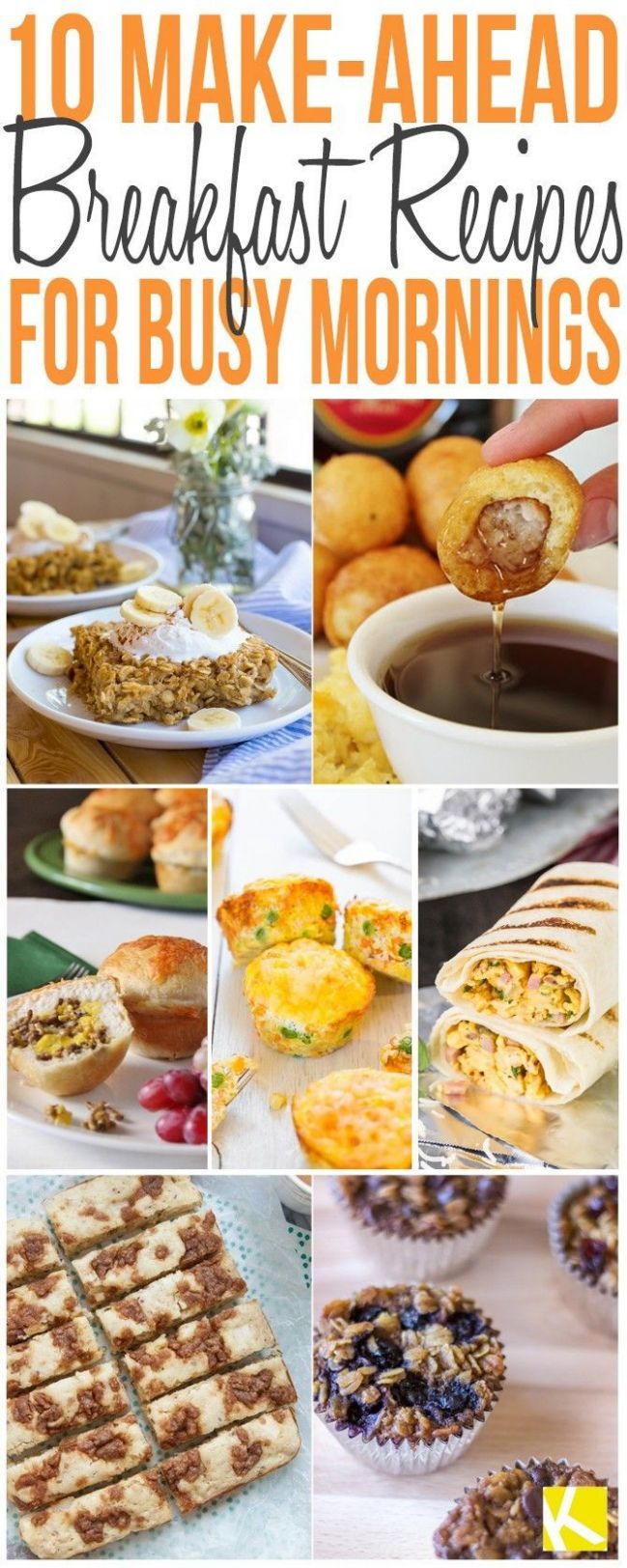 makeahead #breakfast #recipes #quick #easy #and8 Quick and Easy ..