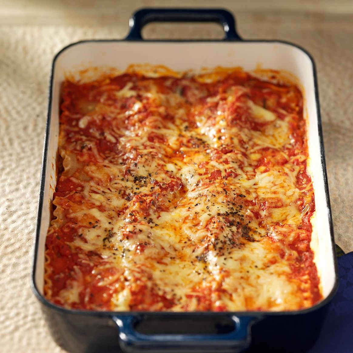 Makeover Beef & Sausage Lasagna - Recipes Beef Sausages