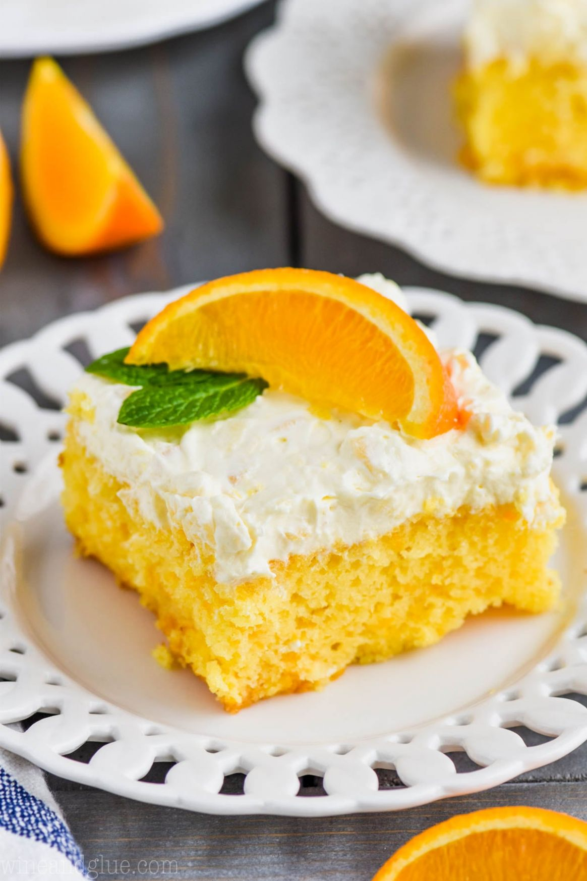 Mandarin Orange Cake Recipe