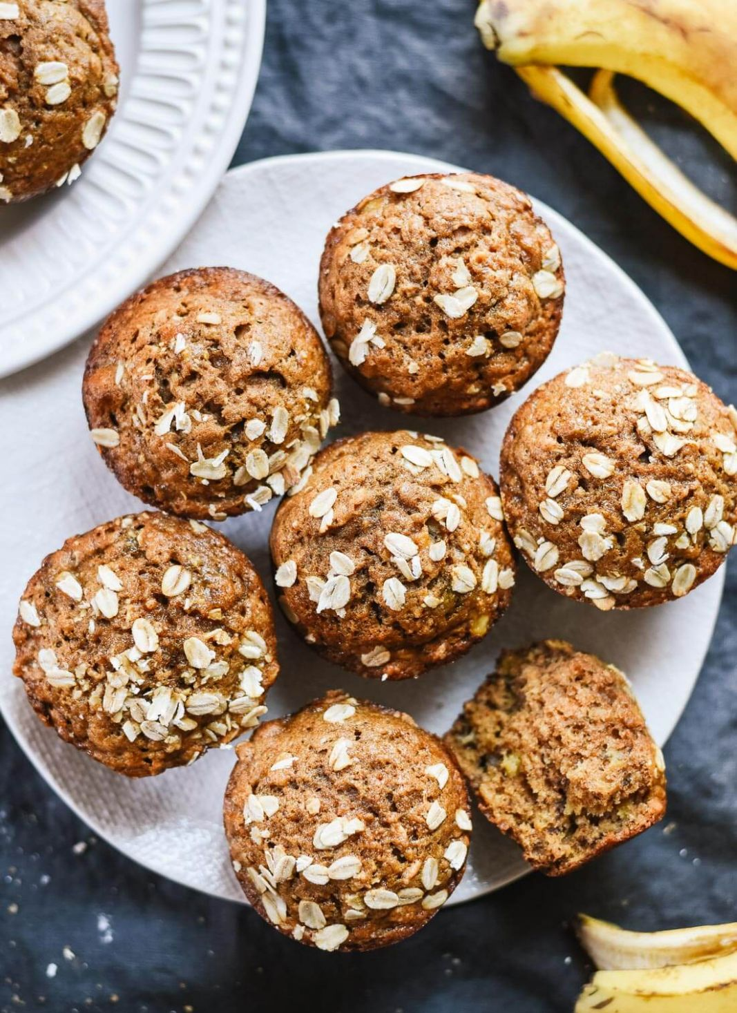 Maple-Sweetened Banana Muffins - Healthy Recipes With Bananas
