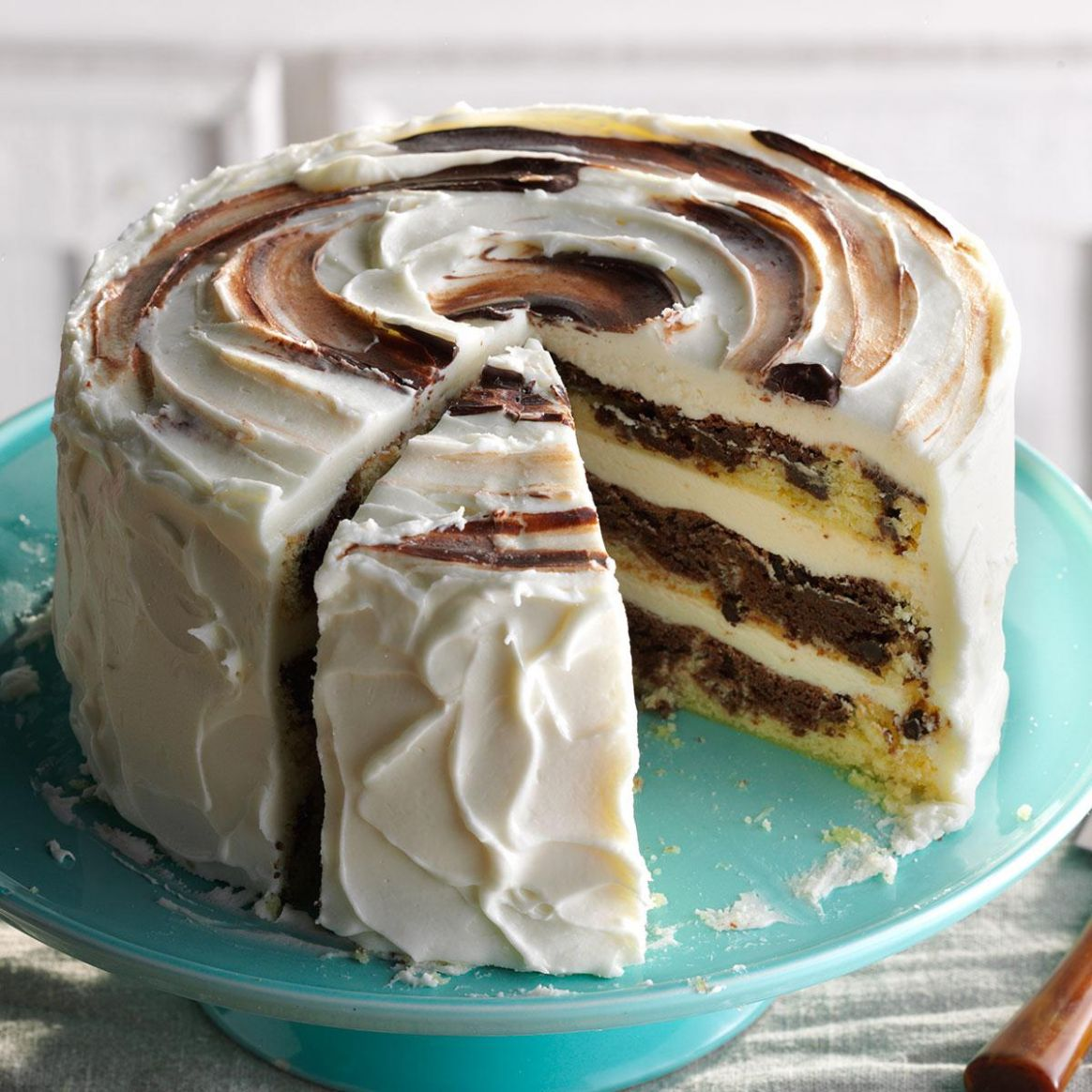 Marvelous Marble Cake - Recipes Cakes