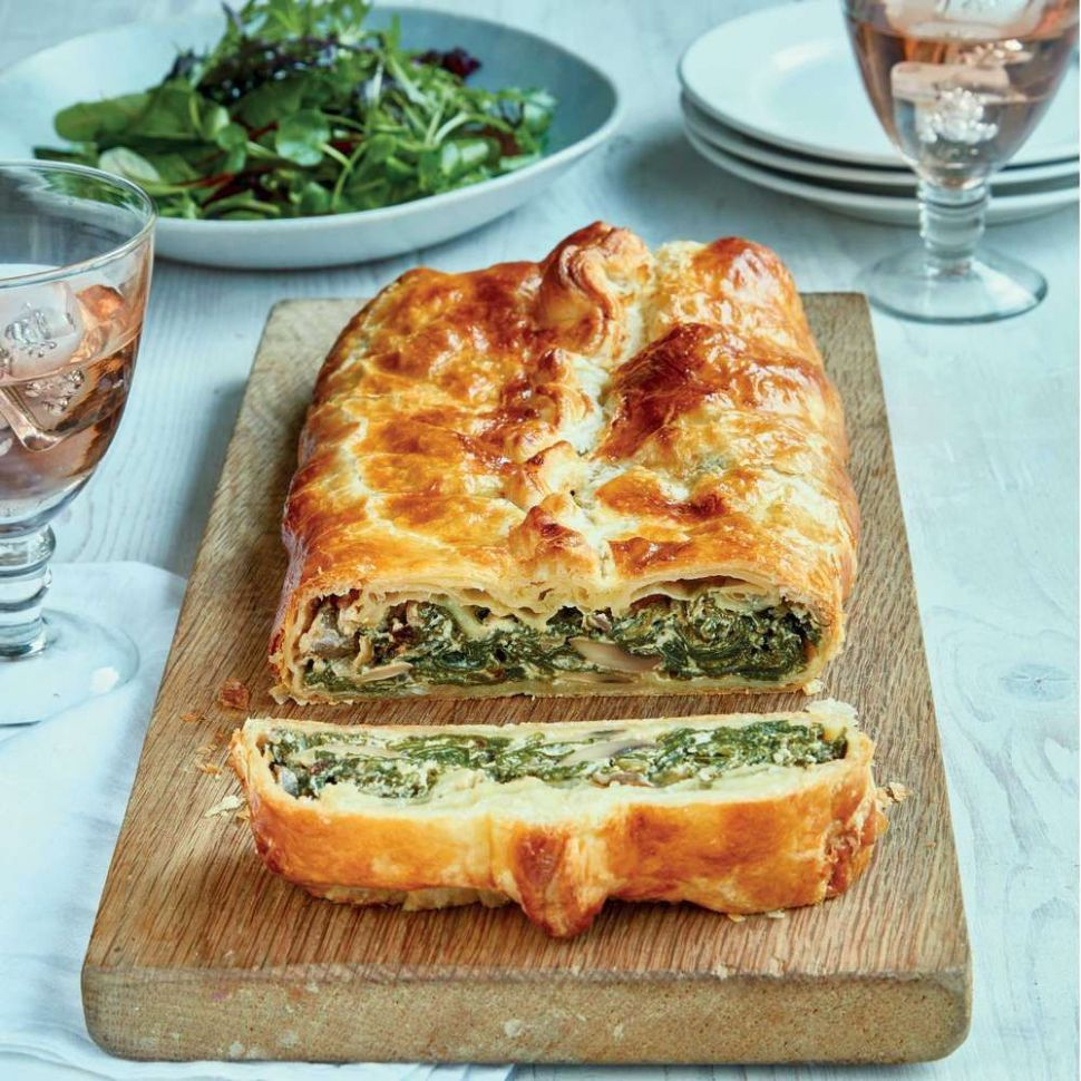Mary Berry's Spinach and Mushroom en Croûte