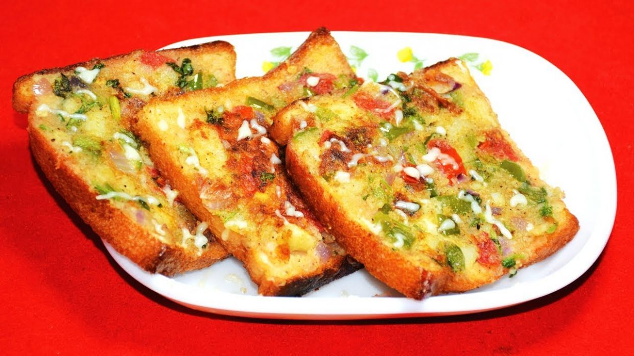 Masala Bread Toast Recipe - Easy Breakfast Tiffin Recipe For Kids In  Bengali - টিফিন নাস্তা রেসিপি