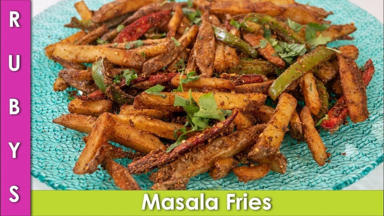Masala French Fries Baloch Highway Fries Recipe in Urdu Hindi ...