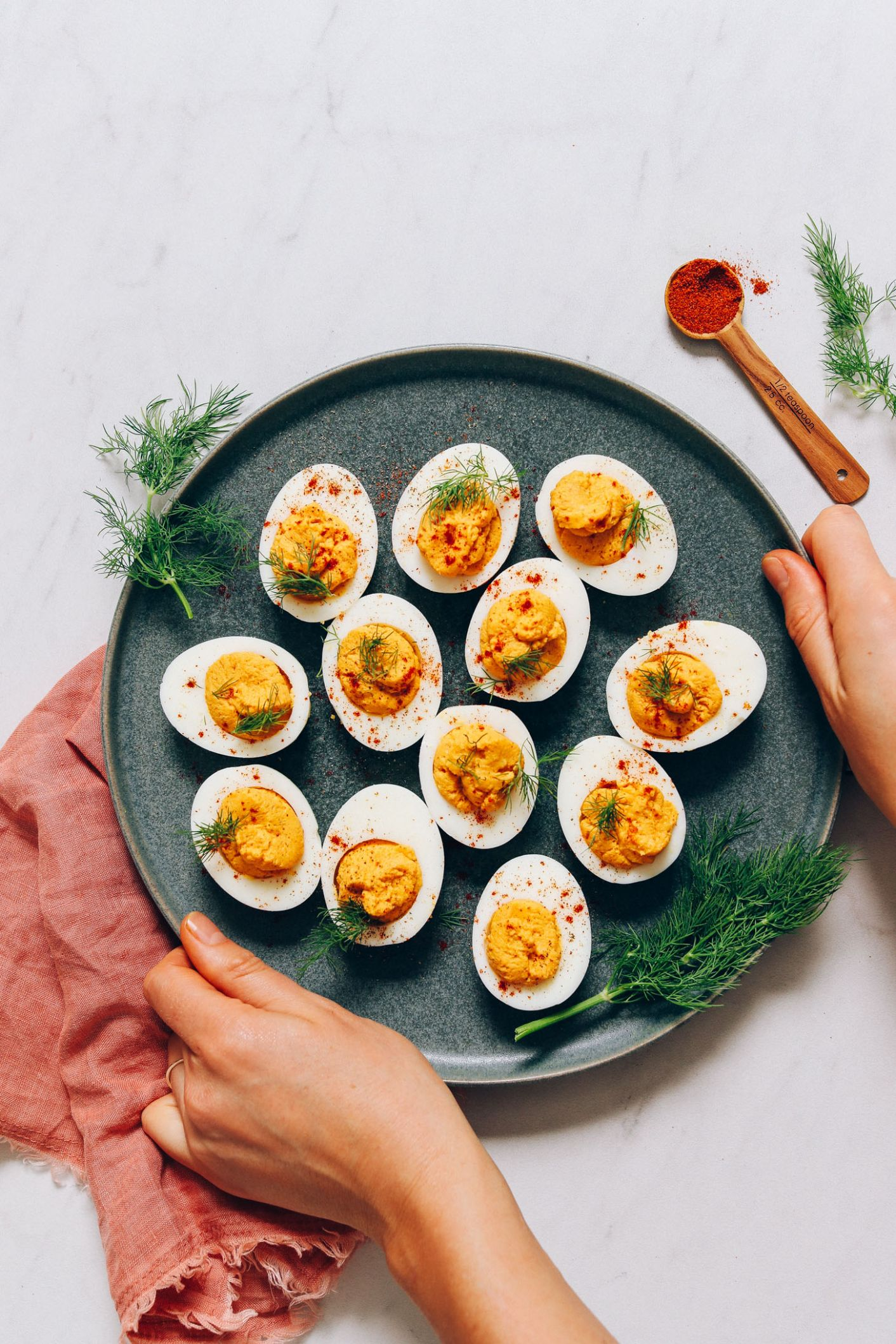Mayo-Free Deviled Eggs - Recipes Egg Free