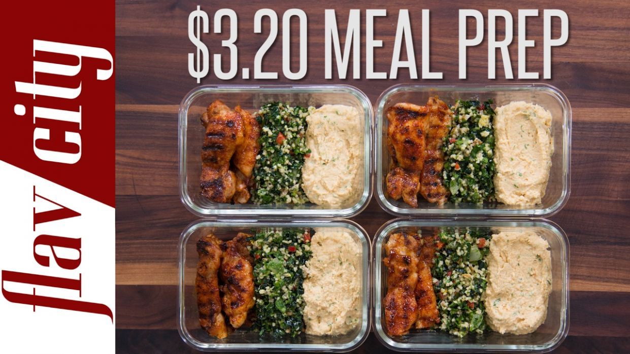Meal Prep Budget - Low Cost Recipes