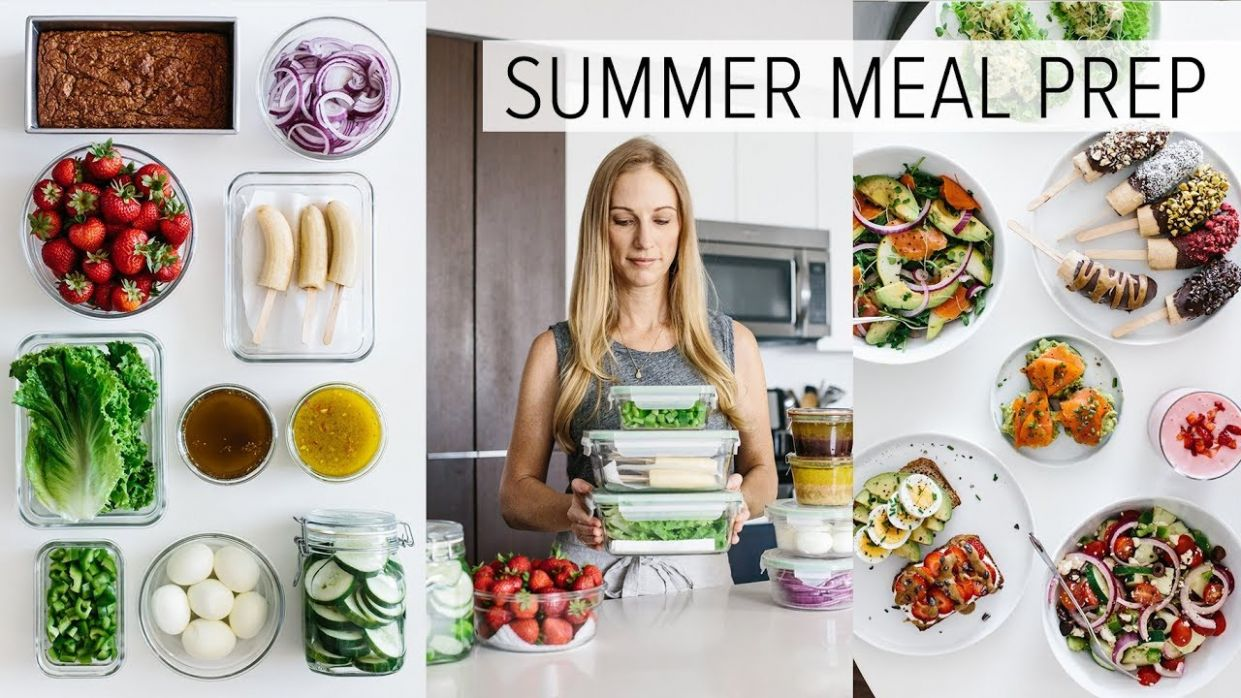 MEAL PREP for SUMMER | light & fresh recipes + PDF guide - Food Recipes Pdf