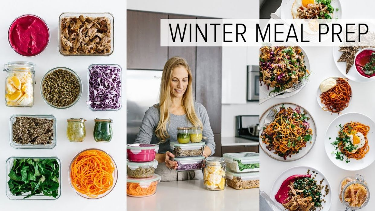 MEAL PREP for WINTER | healthy recipes + PDF guide - Food Recipes Pdf