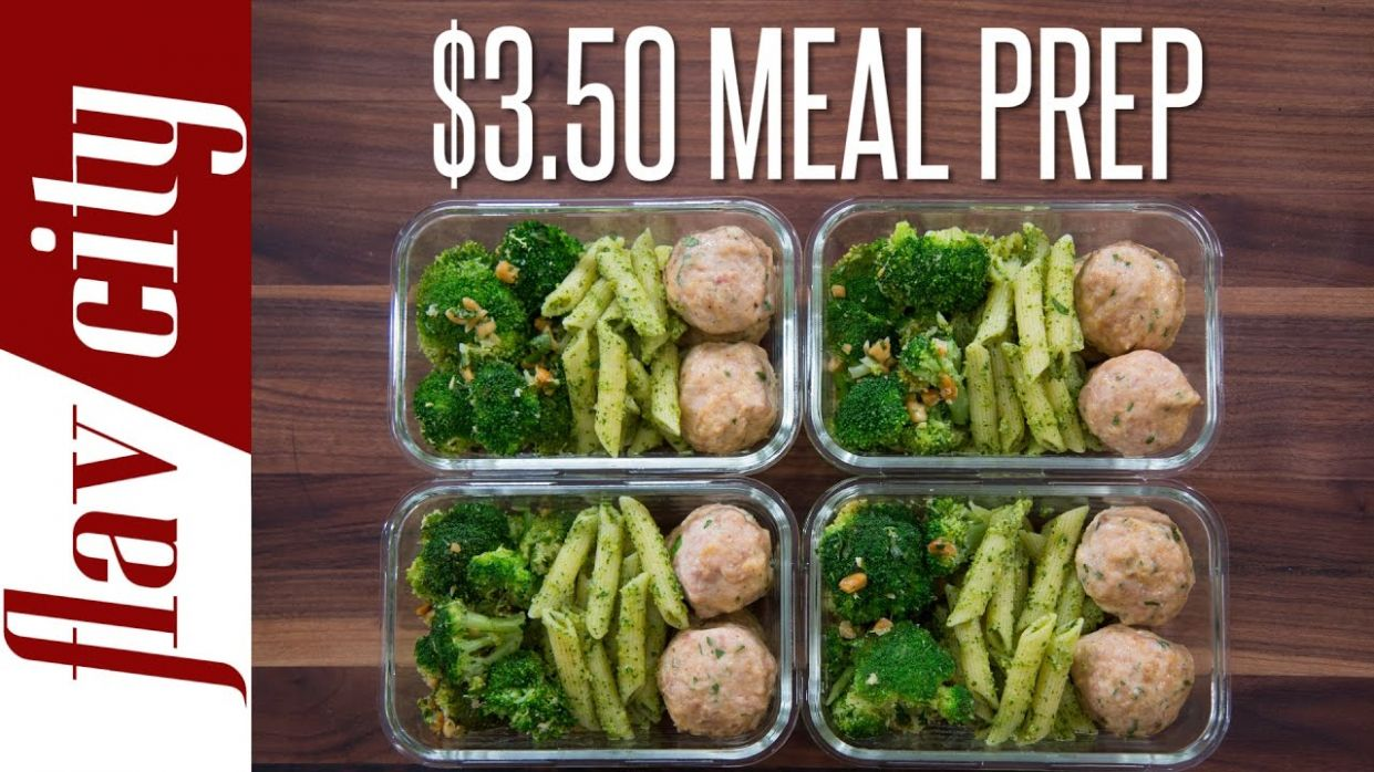 Meal Prep On A Budget - How To Budget Meal Prep ($12