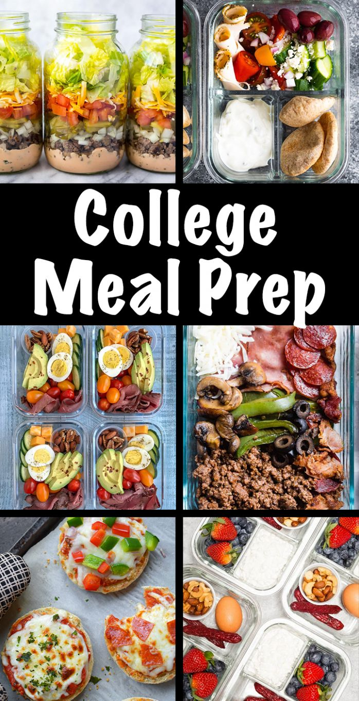 Meal Prep Recipes For College Students - Easy Recipes For Students