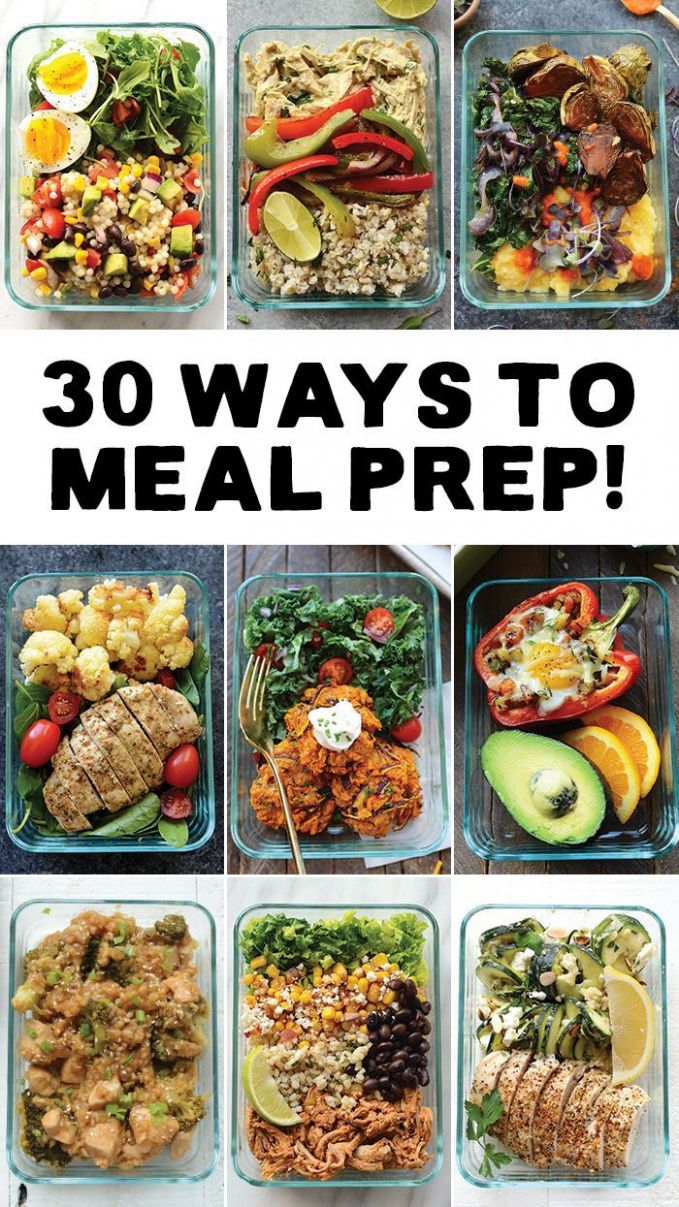 Meal Prep your way in to 10 with 10 different ways to meal prep ...