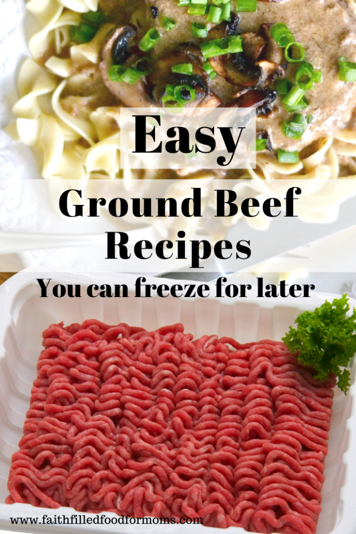 Meatballs - Ground Beef Recipes You Can Freeze