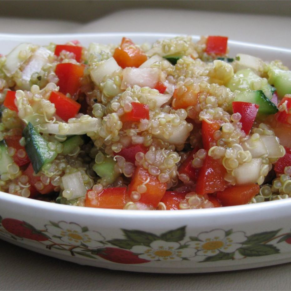 Mediterranean Quinoa Salad - All Recipes Quinoa Salad