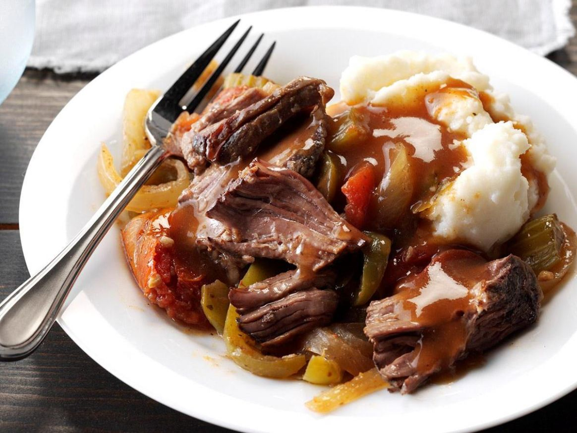 Melt-in-Your-Mouth Chuck Roast - Recipes Beef Chuck Steak