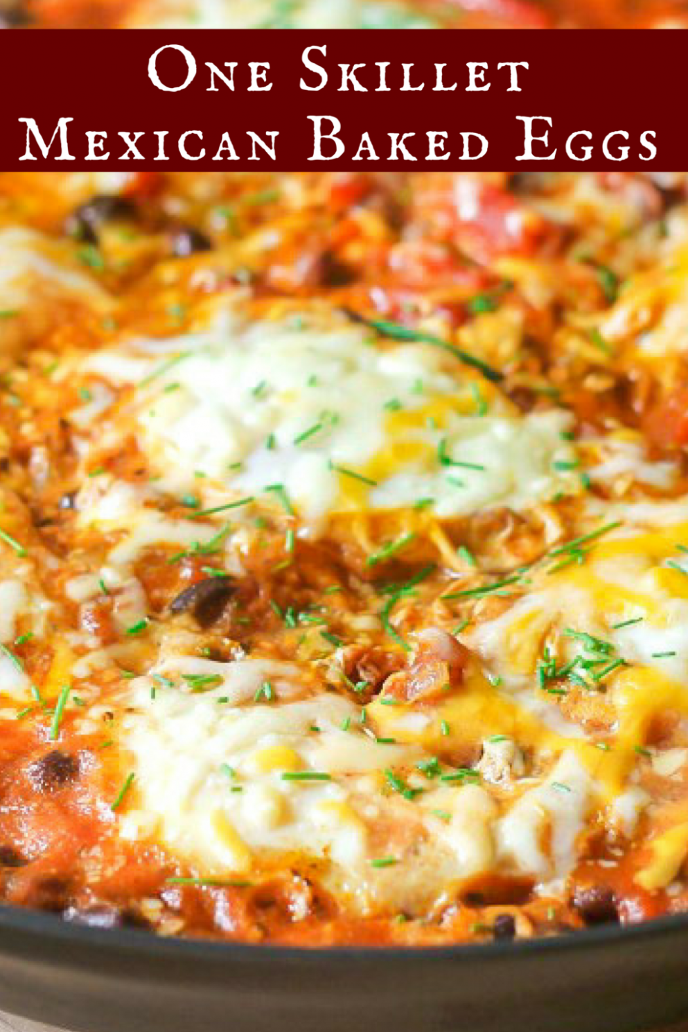Mexican Baked Eggs (One Skillet) - Recipe Egg Lunch