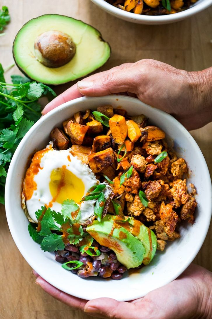 Mexican Breakfast Bowls - Breakfast Recipes Mexican