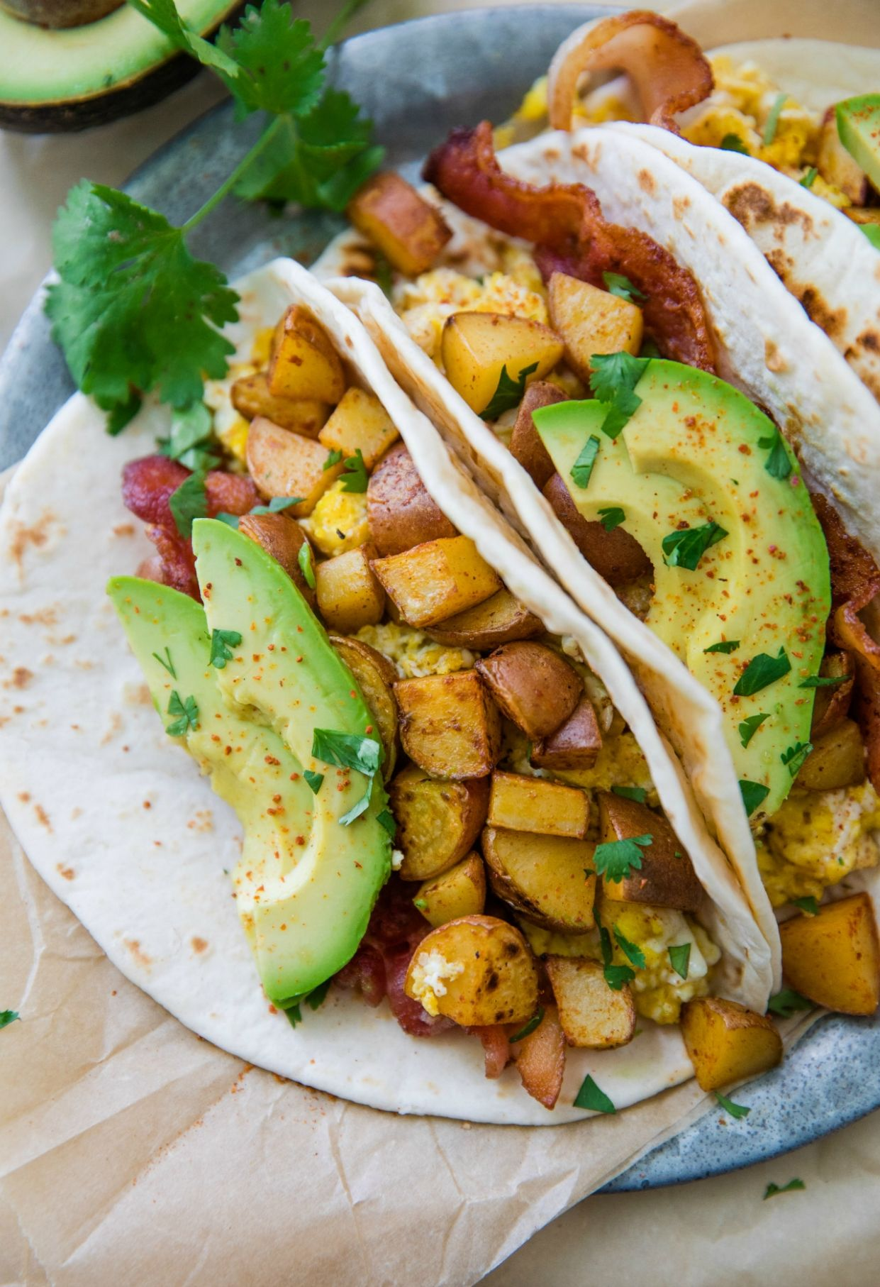 Mexican Breakfast Tacos - Breakfast Recipes Mexican