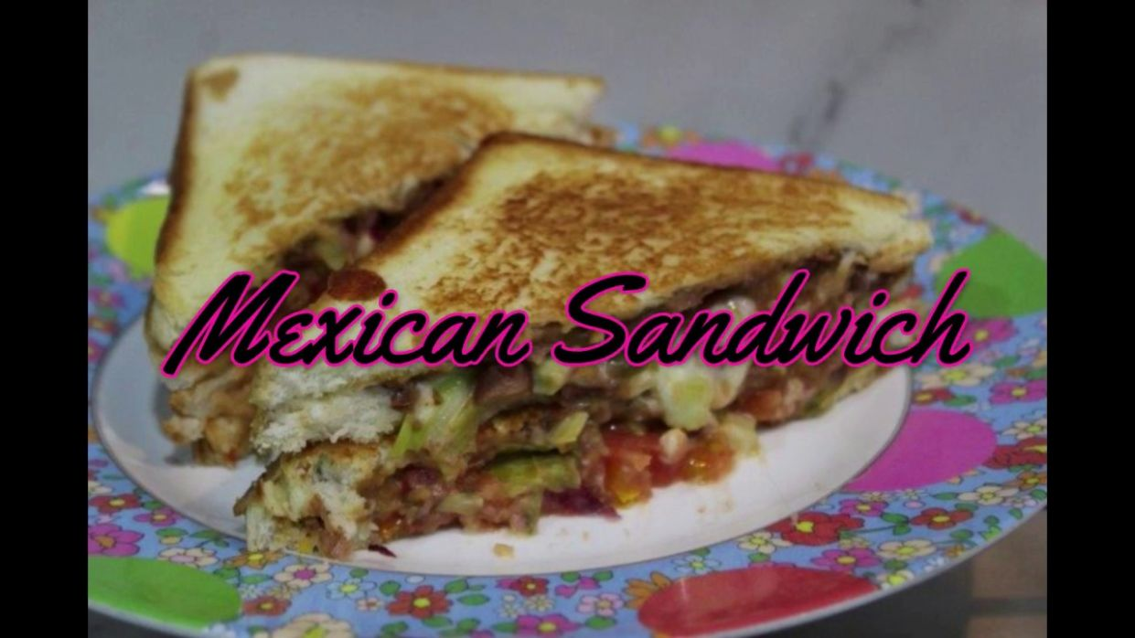 Mexican Sandwich Recipe