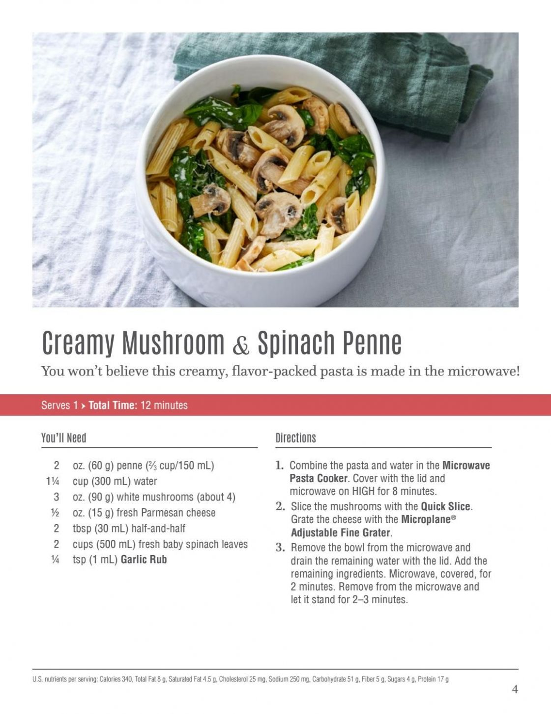 Microwave Pasta Cooker Recipes eBook in 11 | Pampered chef egg ...