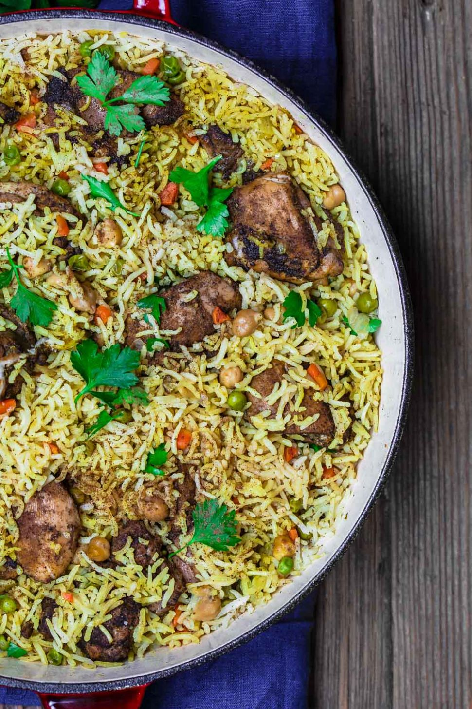 Middle Eastern Chicken and Rice - Rice Recipes Middle Eastern