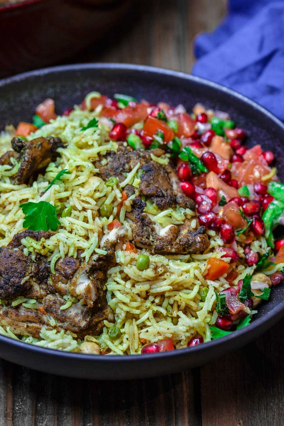 Middle Eastern Chicken and Rice (Video) | The Mediterranean Dish - Rice Recipes Middle Eastern