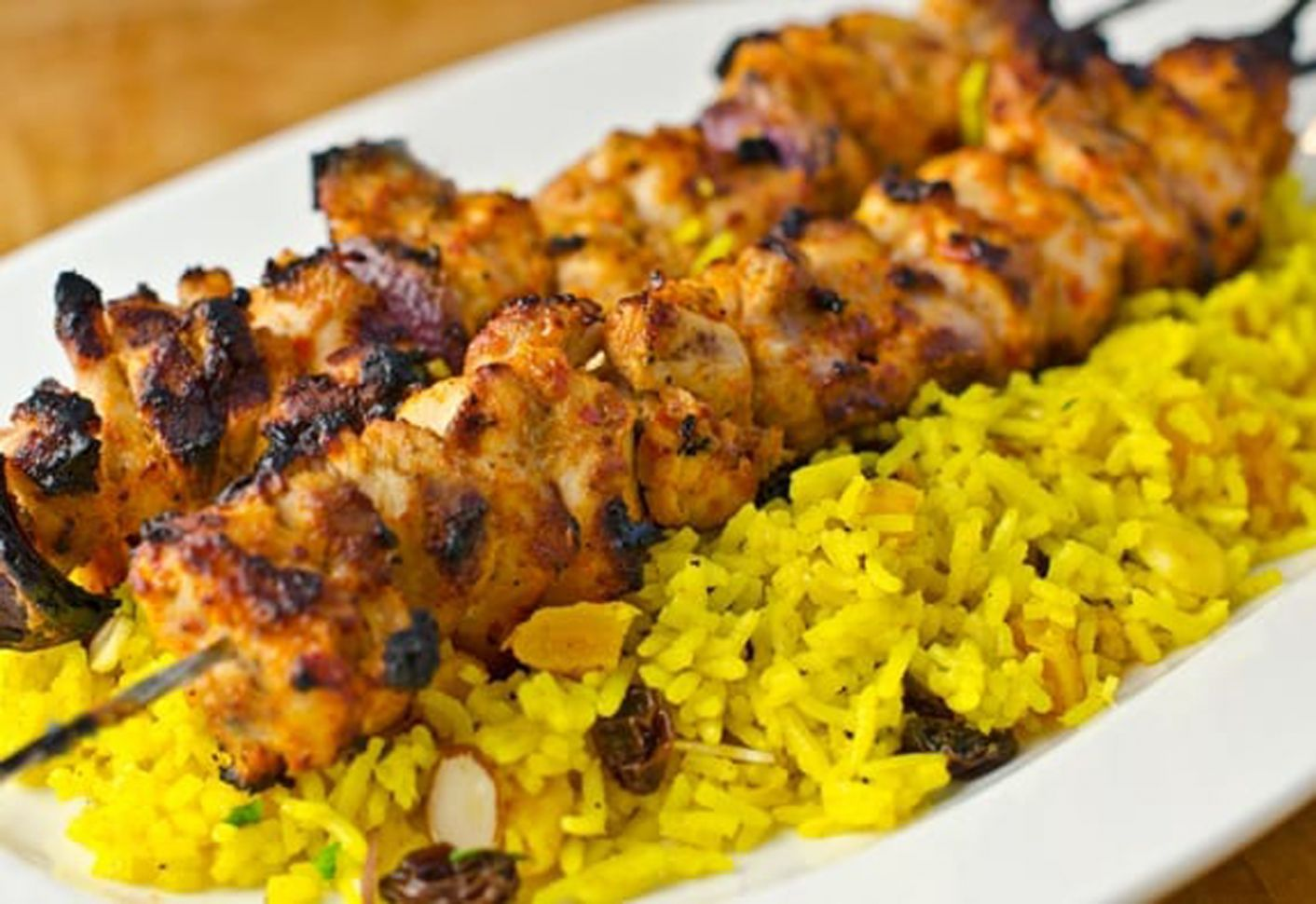 Middle Eastern Chicken Kebabs - Recipes Chicken Kebabs