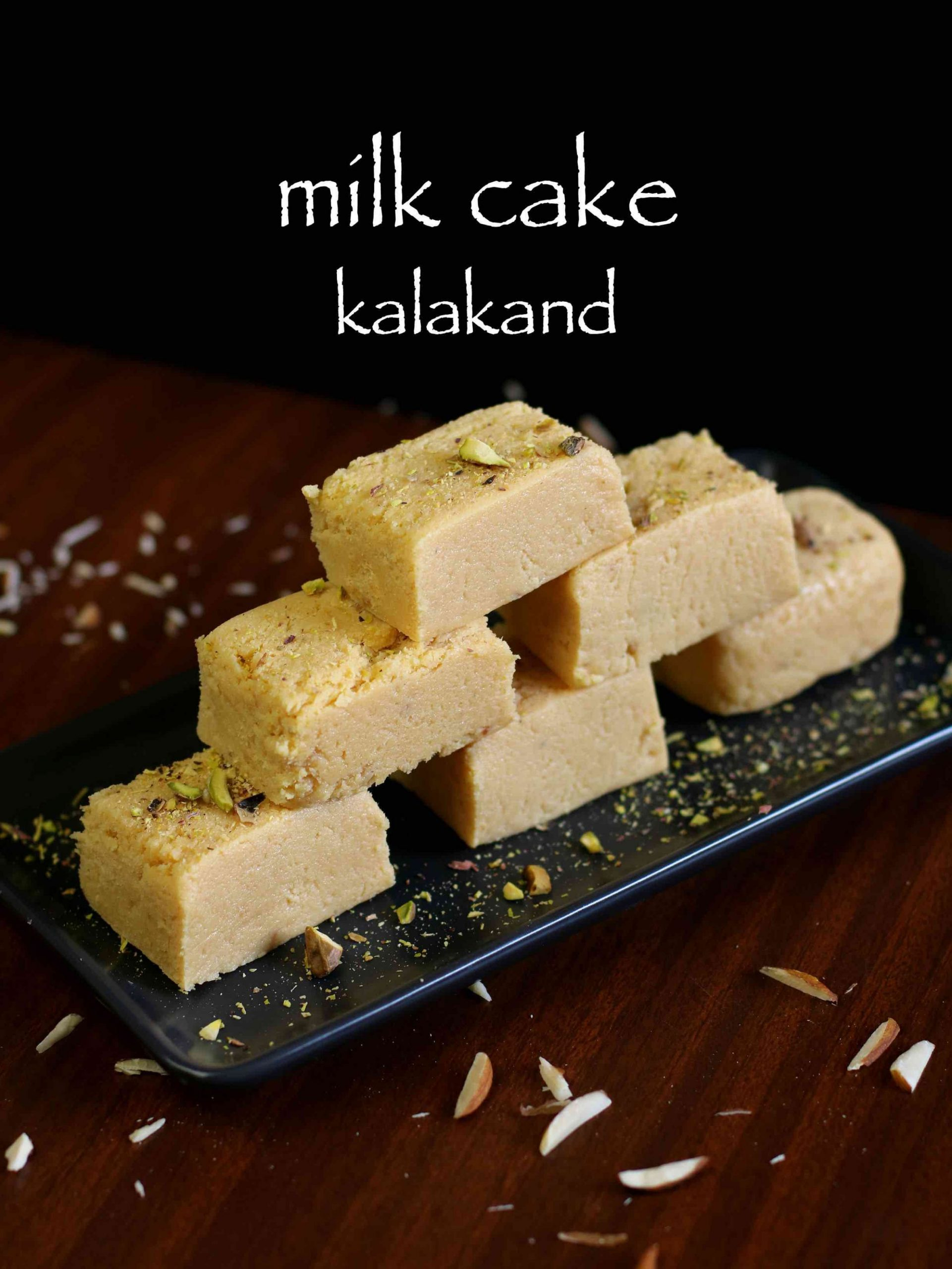 milk cake recipe | milk cake kalakand sweet recipe | milk cake mithai