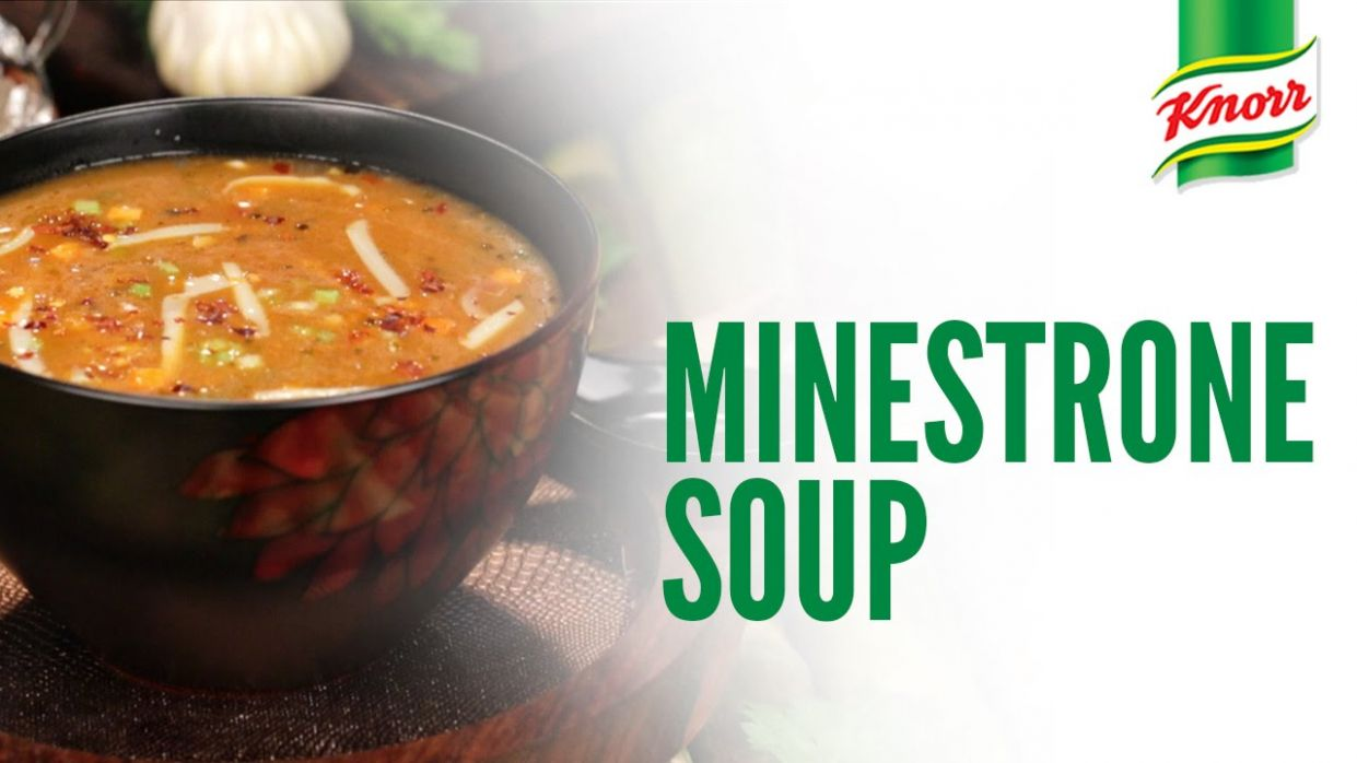 Minestrone Soup Recipe by Knorr - Soup Recipes Knorr