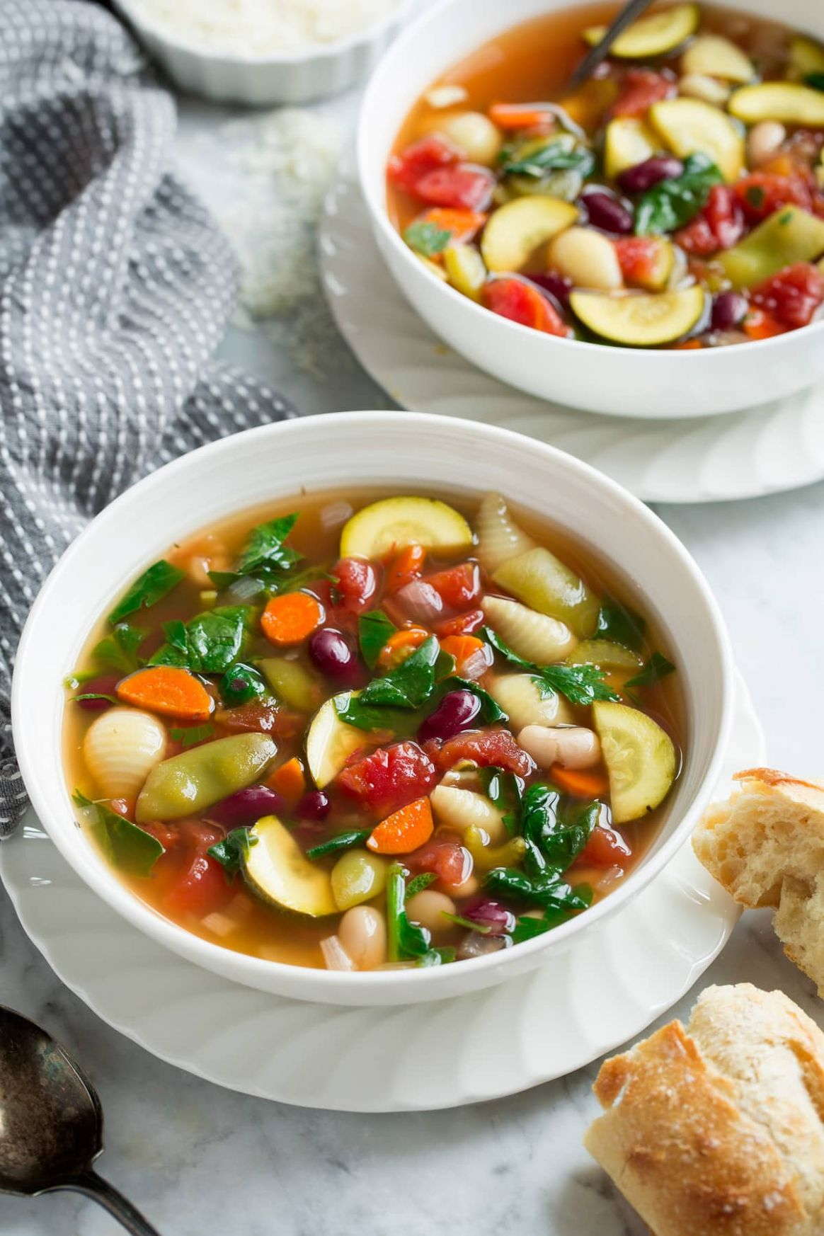 Minestrone Soup Slow Cooker or Stovetop - Recipes Soup Minestrone