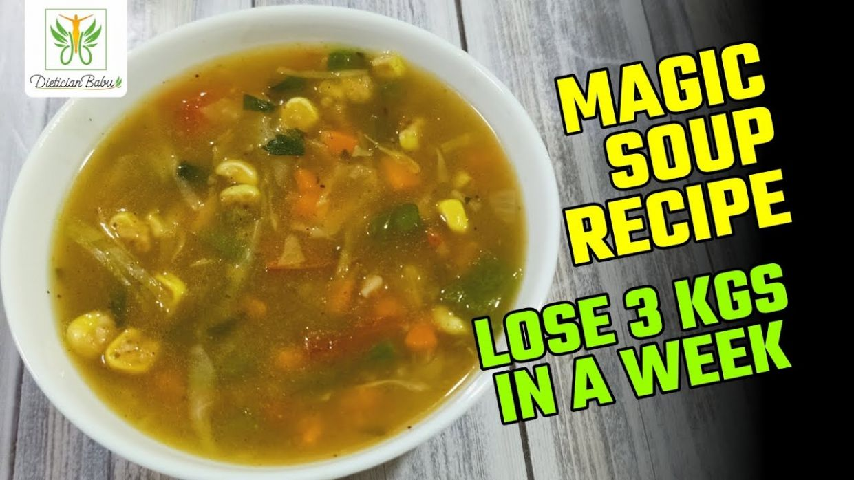 Mix Vegetables Soup For Weight Loss | Magic Soup