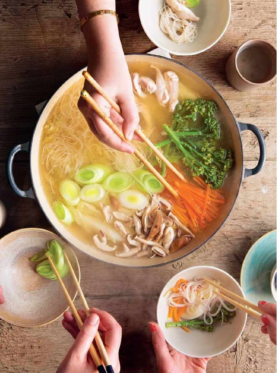 Mizutaki: A Japanese Hot Pot - Soup Recipes Japanese