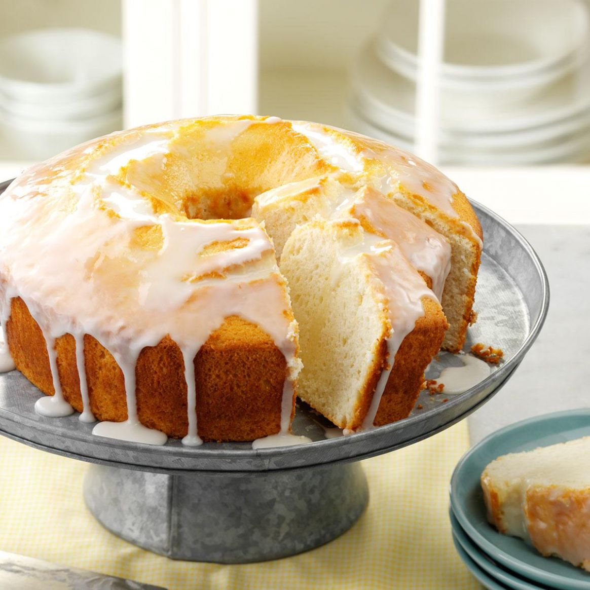 Moist Lemon Chiffon Cake - Recipes Cakes And Desserts