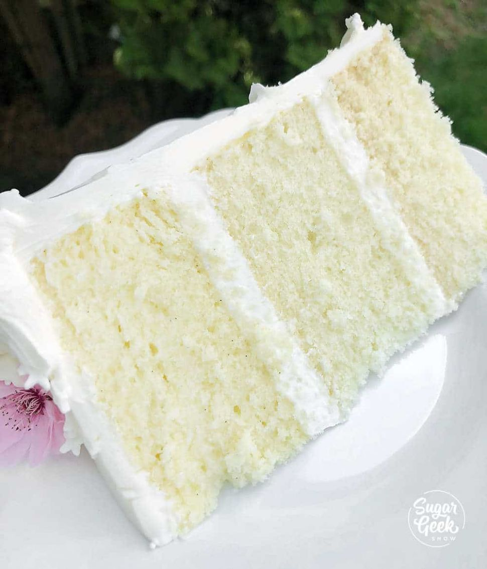Moist Vanilla Cake Recipe From Scratch - Recipes Cake Vanilla