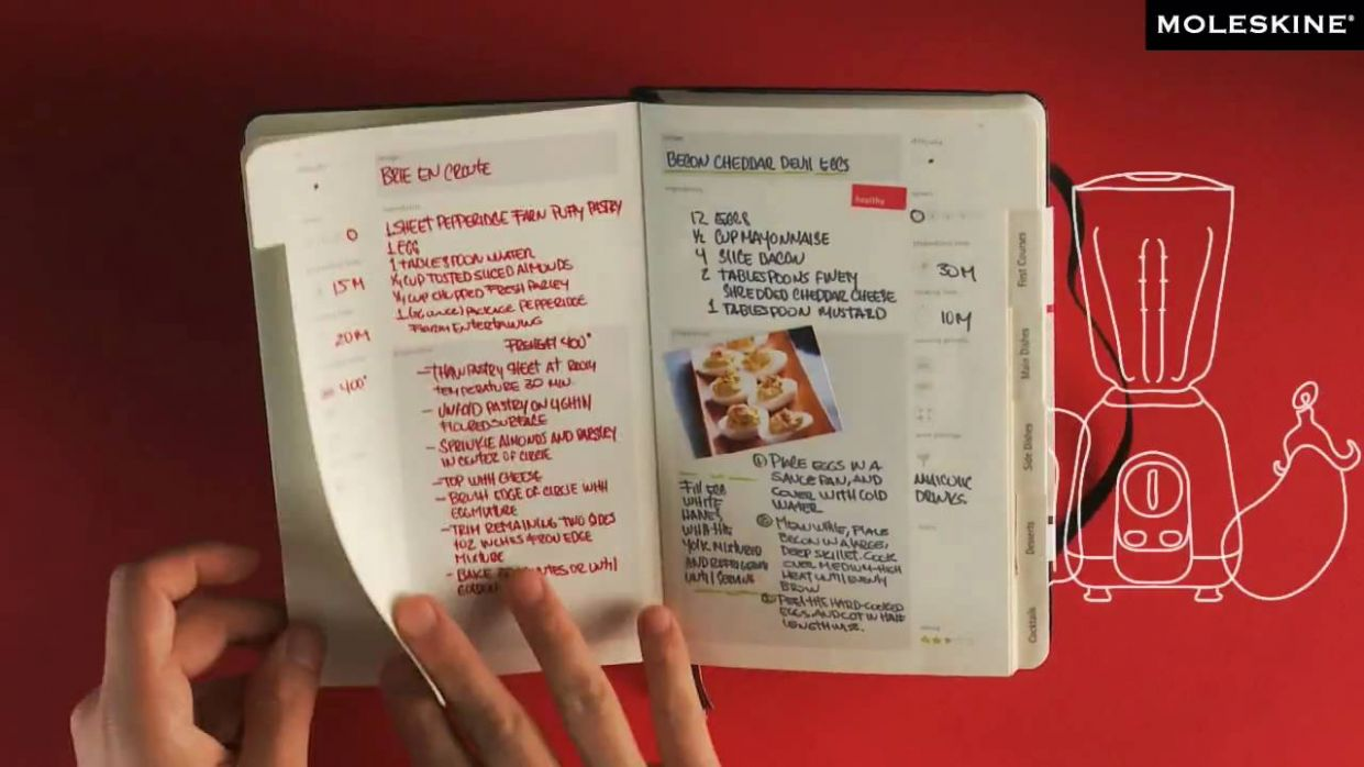 Moleskine Passions - Recipe Journal - Recipes A Cooking Journal