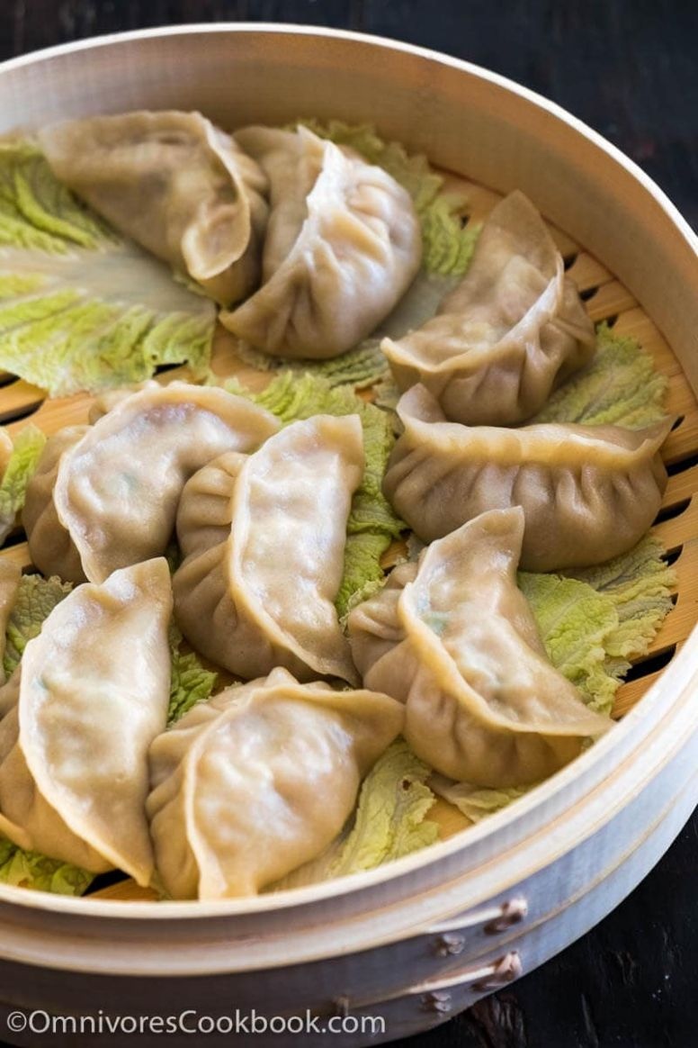 Mom's Best Pork Dumplings with Cabbage