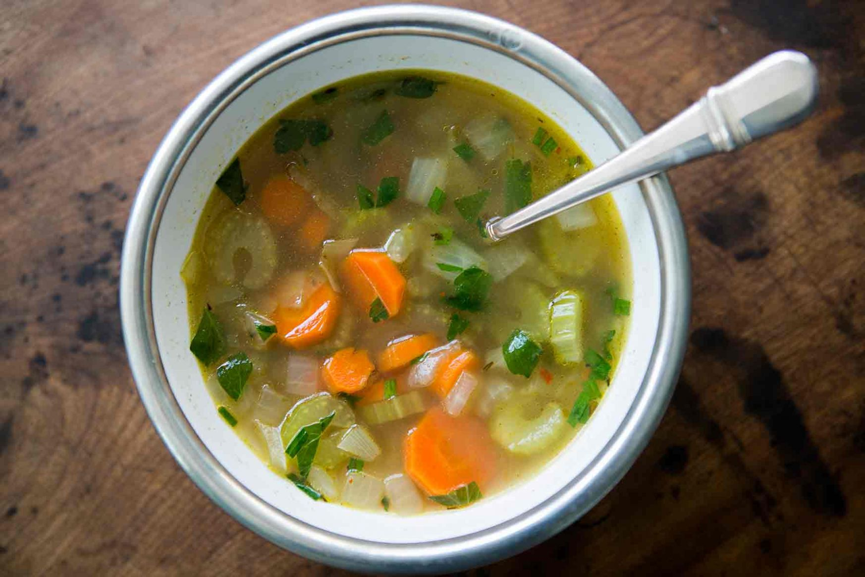 Mom's Cold-Season Chicken Soup - Soup Recipes With Chicken Broth