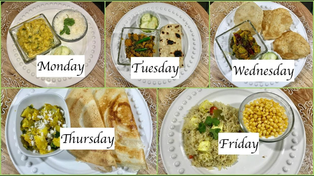 Monday To Friday Indian Summer Dinner Recipes   Quick Dinner Ideas   Simple  Living Wise Thinking - Dinner Recipes Quick Indian